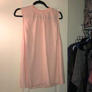 EUC Loft Pink Fizz Blouse